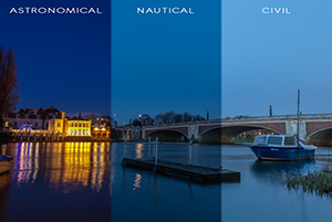 Blue Hour Phases